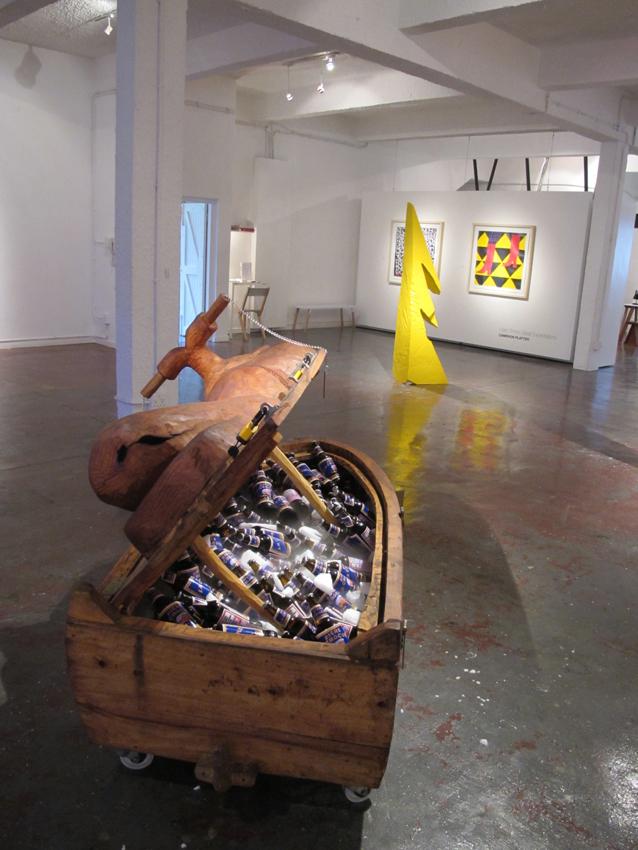 Cameron Platter Jetski, Vue d'installation — Galerie Éric Hussenot, Paris