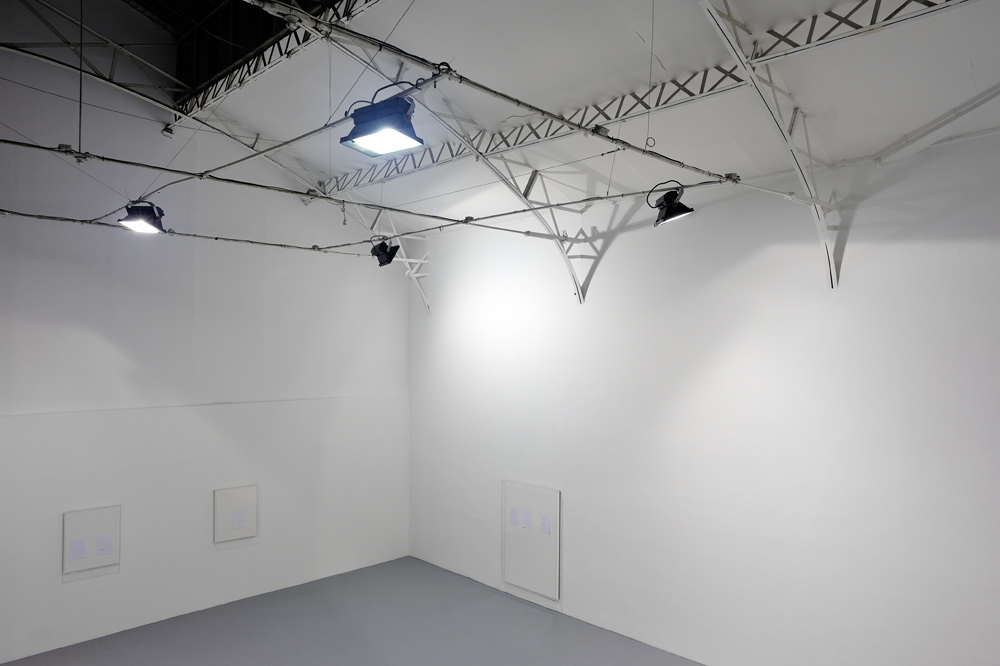 Spotlight, 2014, Installation lumineuse, Dimension variable 