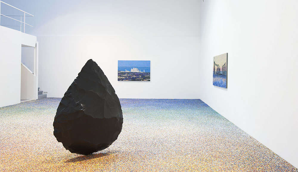μια ιστορία,  Vue d'installation. — Galerie Éric Hussenot, Paris