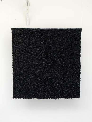 Joel Andrianomearisoa, NY Flow, 2010, Tissus, 300 x 300 cm   — Galerie Éric Hussenot, Paris