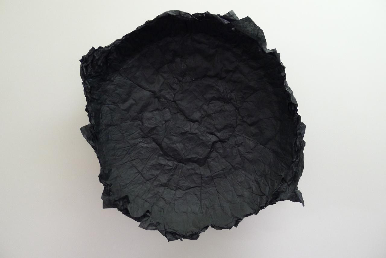 Joel Andrianomearisoa, Empty, 2011 , Papier , 75 x 20 cm   — Galerie Éric Hussenot, Paris