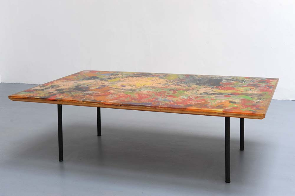 Franz West, Working Table in Aspic, 2011 