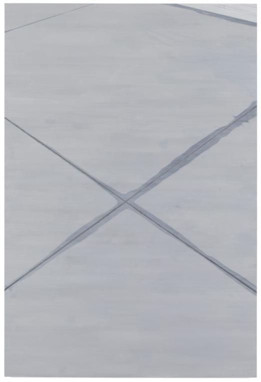 Beton, B08,  2008, Oil on canvas, 180 x 120 cm — Galerie Éric Hussenot, Paris