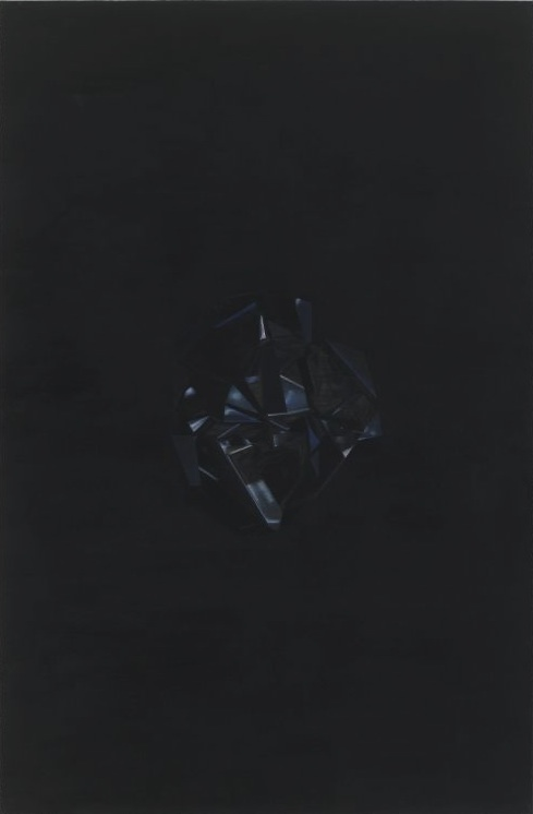 Black Magic, B08, 2008, Oil on canvas, 120 x 80 cm — Galerie Éric Hussenot, Paris