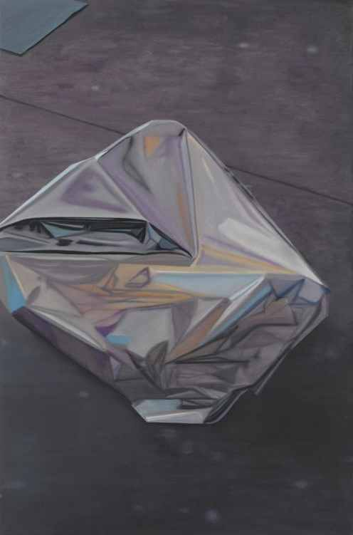 Glanz, B08,  2008, Oil on canvas, 120 x 80 cm — Galerie Éric Hussenot, Paris