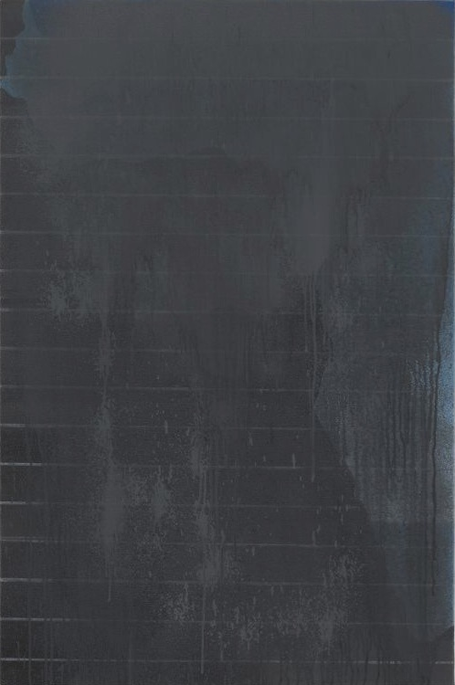 Öl, B08,  2008, Oil on canvas, 120 x 80 cm — Galerie Éric Hussenot, Paris