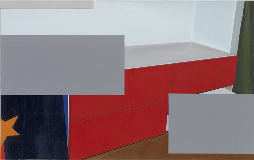 Rätsel, B13, 2013, Oil on canvas, 120 x 190 cm 