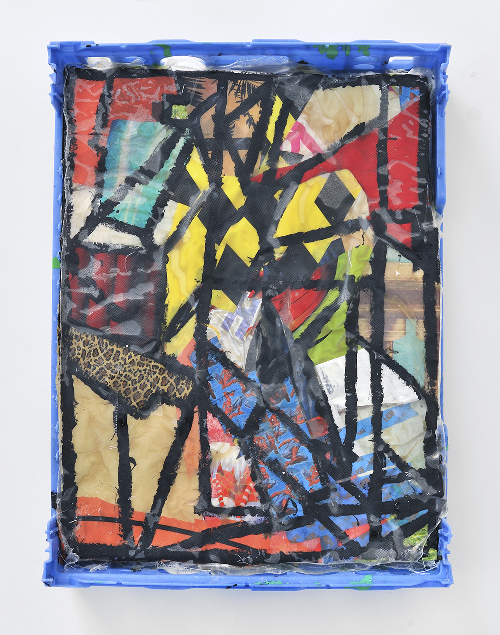 Denver, 2013, Mixed media on plastic, 56,5 x 76 x 15 cm 