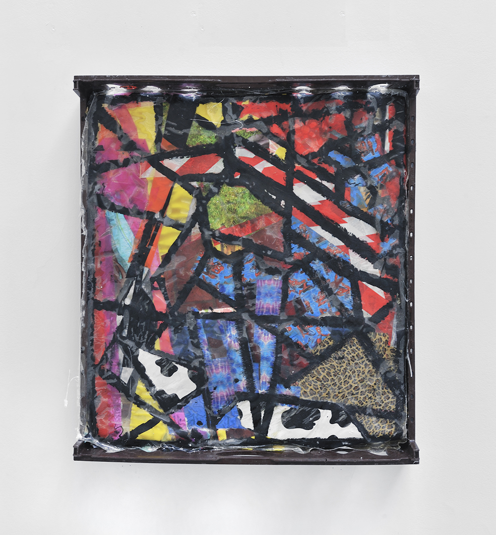 Woodstock, 2013, Mixed media on plastic,  