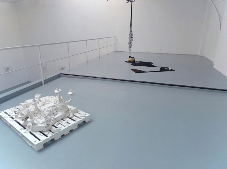 Fragments, Vue d'installation, Eric Hussenot, Paris. — Galerie Éric Hussenot, Paris