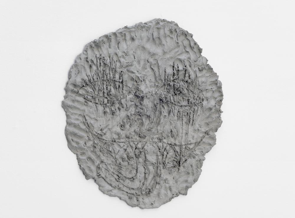 Concrete Expression n° 23, Chloe Seibert, 2015, Concrete, 61 x 74 cm   — Galerie Éric Hussenot, Paris