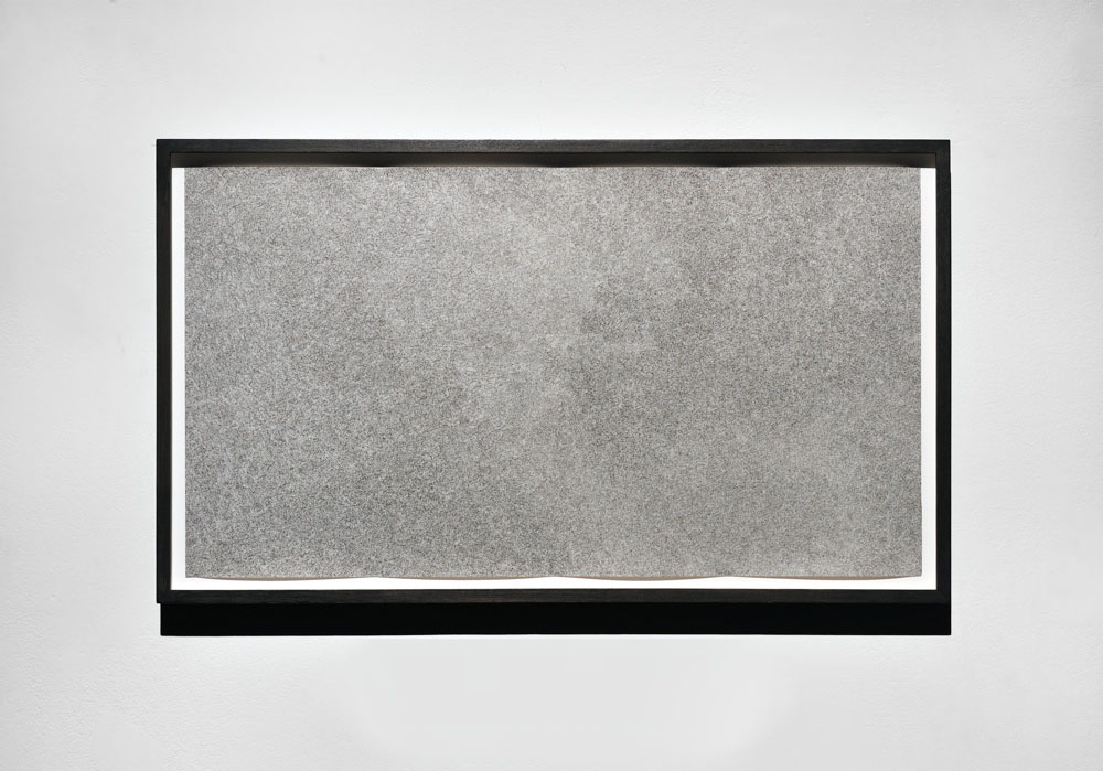 Neige Blanche, 2012, Encre sur papier, 82 x 46 cm   — Galerie Éric Hussenot, Paris