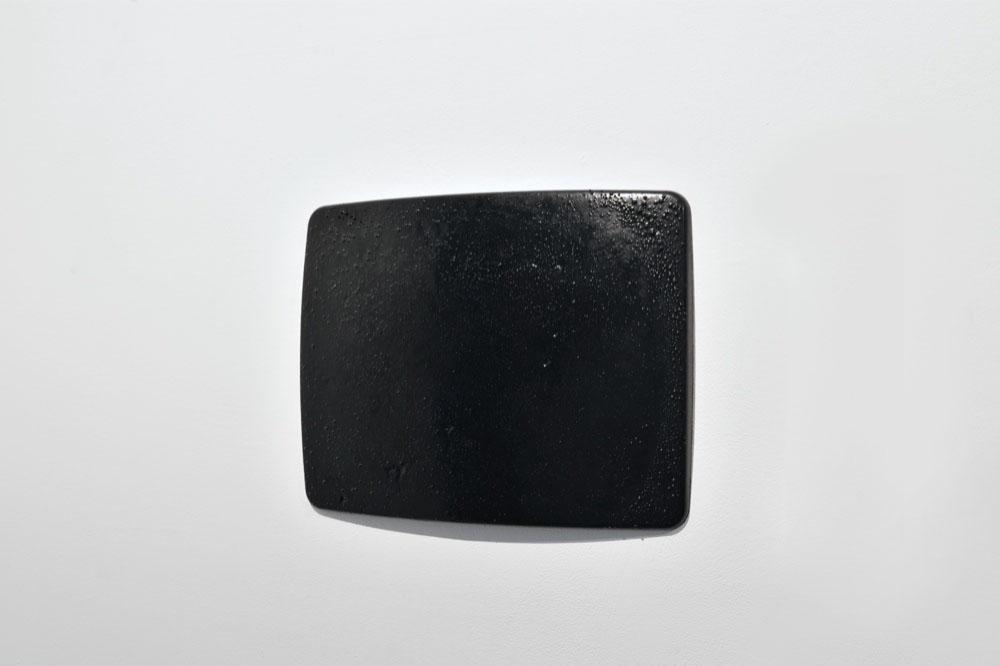 Black Out, 2011, Glycero, Résine cristale epoxi, 40 x 51 cm   — Galerie Éric Hussenot, Paris