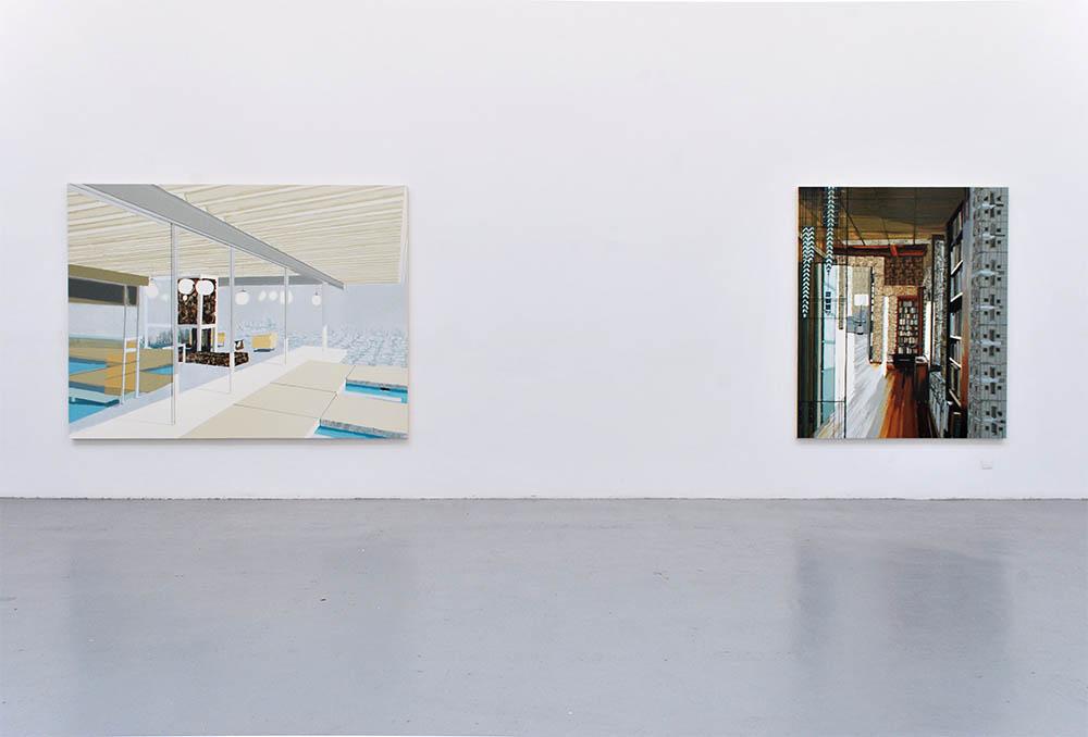 Kirsten Everberg,  Vue d'installation — Galerie Éric Hussenot, Paris