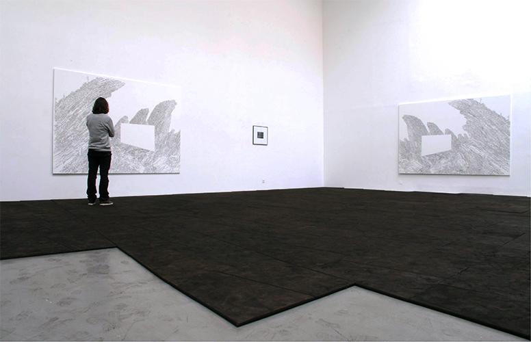 Le monde connu,  Vue d'installation, Eric Hussenot, Paris.     — Galerie Éric Hussenot, Paris