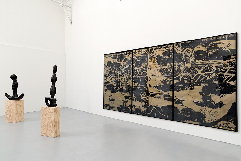 Monster, Vue d'installation, Eric Hussenot, Paris 