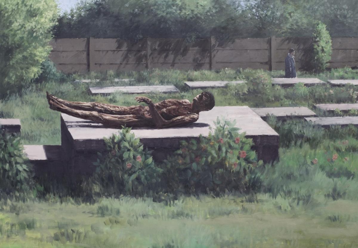 Life after death, 2010, Huile sur toile, 136 x 196 cm   — Galerie Éric Hussenot, Paris