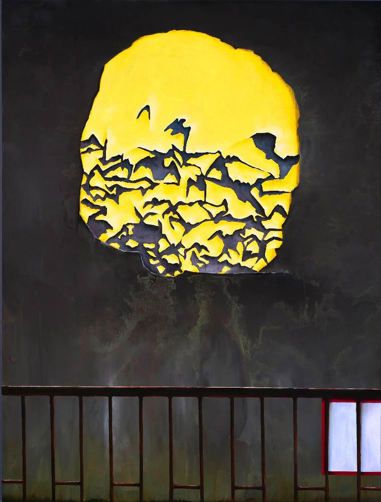 Sunshine Story, 2011, Oil on canvas, 160 x 120 cm       — Galerie Éric Hussenot, Paris