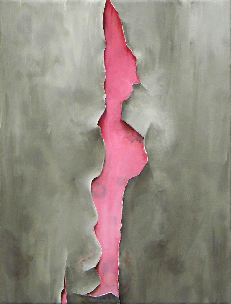 A Good Humor, 2011, Oil on canvas, 40 x 30 cm    — Galerie Éric Hussenot, Paris