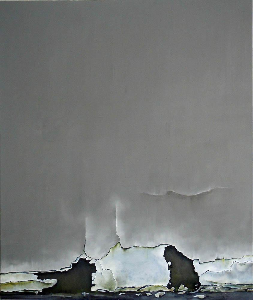 A Story, 2011, Oil on canvas, 130 x 110 cm      — Galerie Éric Hussenot, Paris
