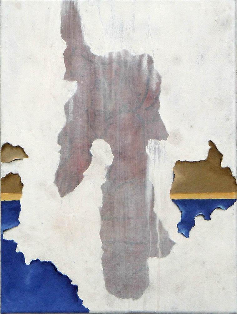 Animus (Little Tuck), 2011, Oil on canvas, 40 x 30 cm        — Galerie Éric Hussenot, Paris