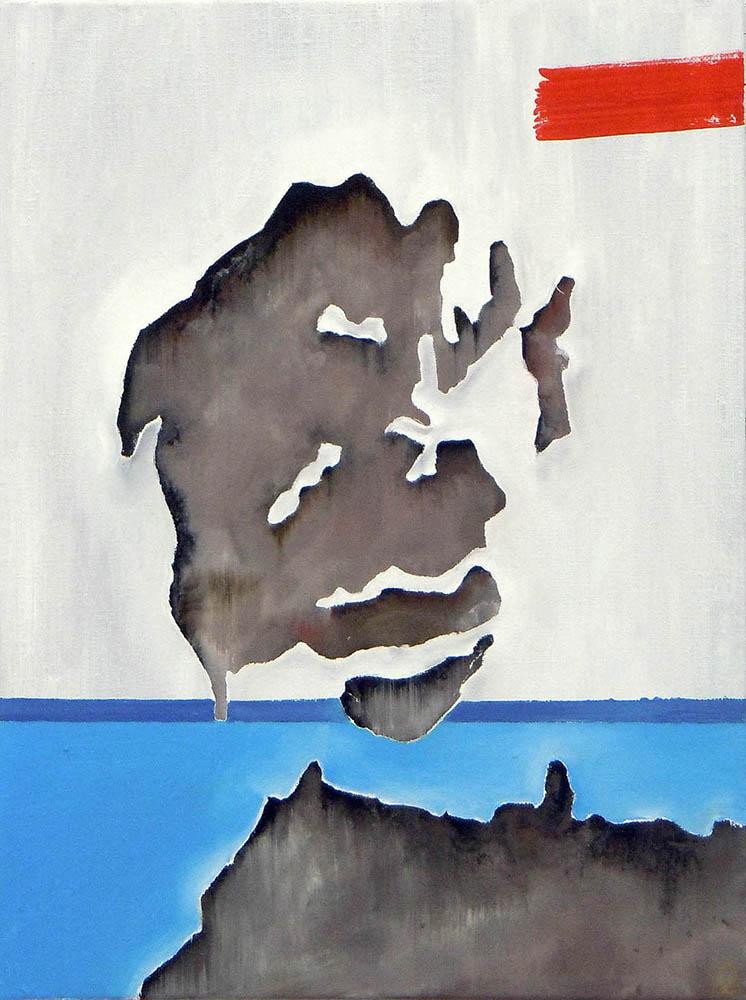 Holger Danske, 2011, Oil on canvas, 40 x 30 cm     — Galerie Éric Hussenot, Paris