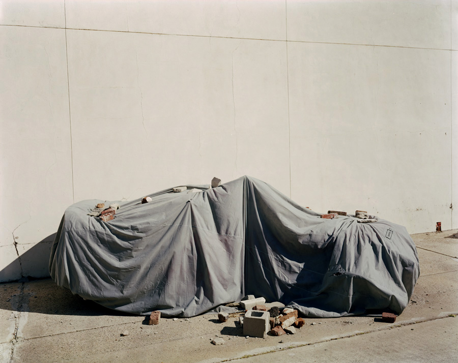 Covered, 2006, Edition 3/6, C-print, 181 x 101,6 cm — Galerie Éric Hussenot, Paris
