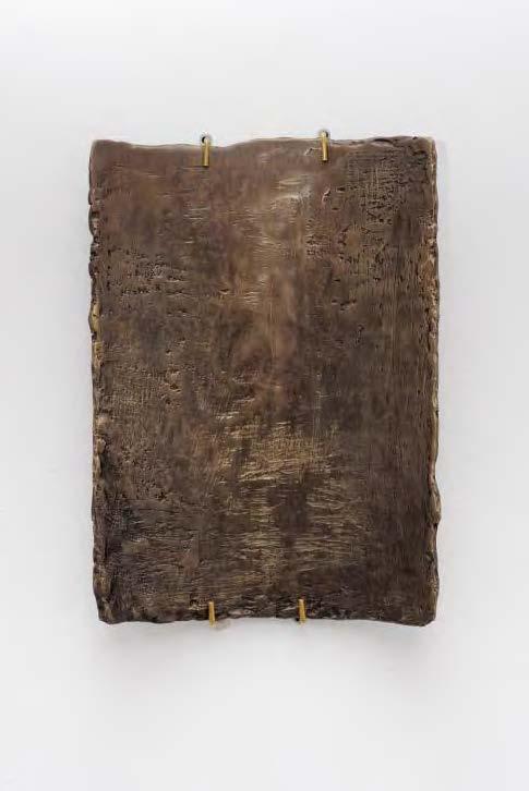 Ciprian Mureșan Untitled, 2016, bronze, 30 x 20 x 0,5 cm — Galerie Éric Hussenot, Paris