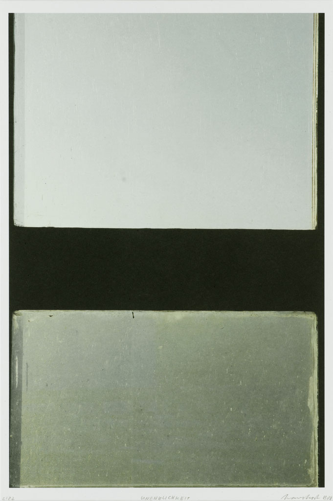 Eberhard Havekost Unendlichkeit, B08,  2008, Impression 4 couleur, 44,2 x 29,5 cm — Galerie Éric Hussenot, Paris