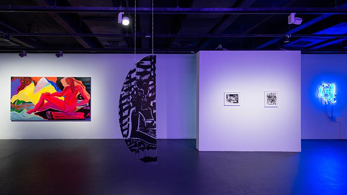 Mira Dancy FUTURE WOMAN // Remake me, Mira Dancy, installation view @ the YUZ foundation, Shanghai 2016 — Galerie Éric Hussenot, Paris