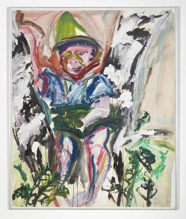 Stephan Dillemuth Bayernbub,  Stephan Dillemuth, 1979, Acrylic on canvas, 154 x 127 cm — Galerie Éric Hussenot, Paris