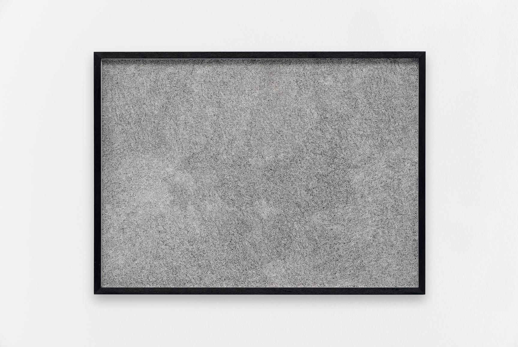 Neige, Antoine Aguilar, 2017, Encre sur papier,   24 x 33 cm (9 ½ x 13 inches)   — Galerie Éric Hussenot, Paris