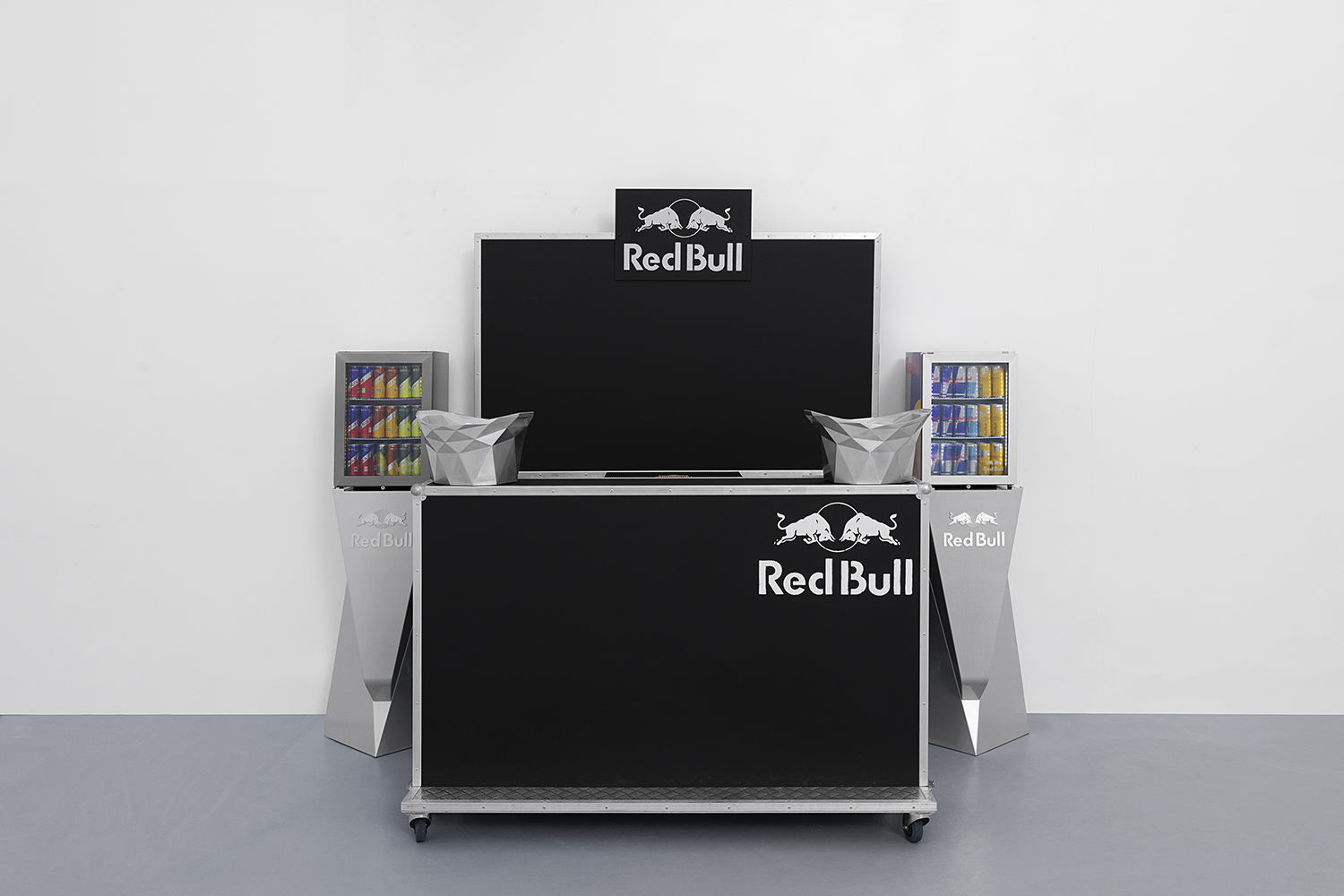 Red Bull Cocktail Bar,  Installation view, Red Bull Cocktail bar, Hussenot, Paris — Galerie Éric Hussenot, Paris