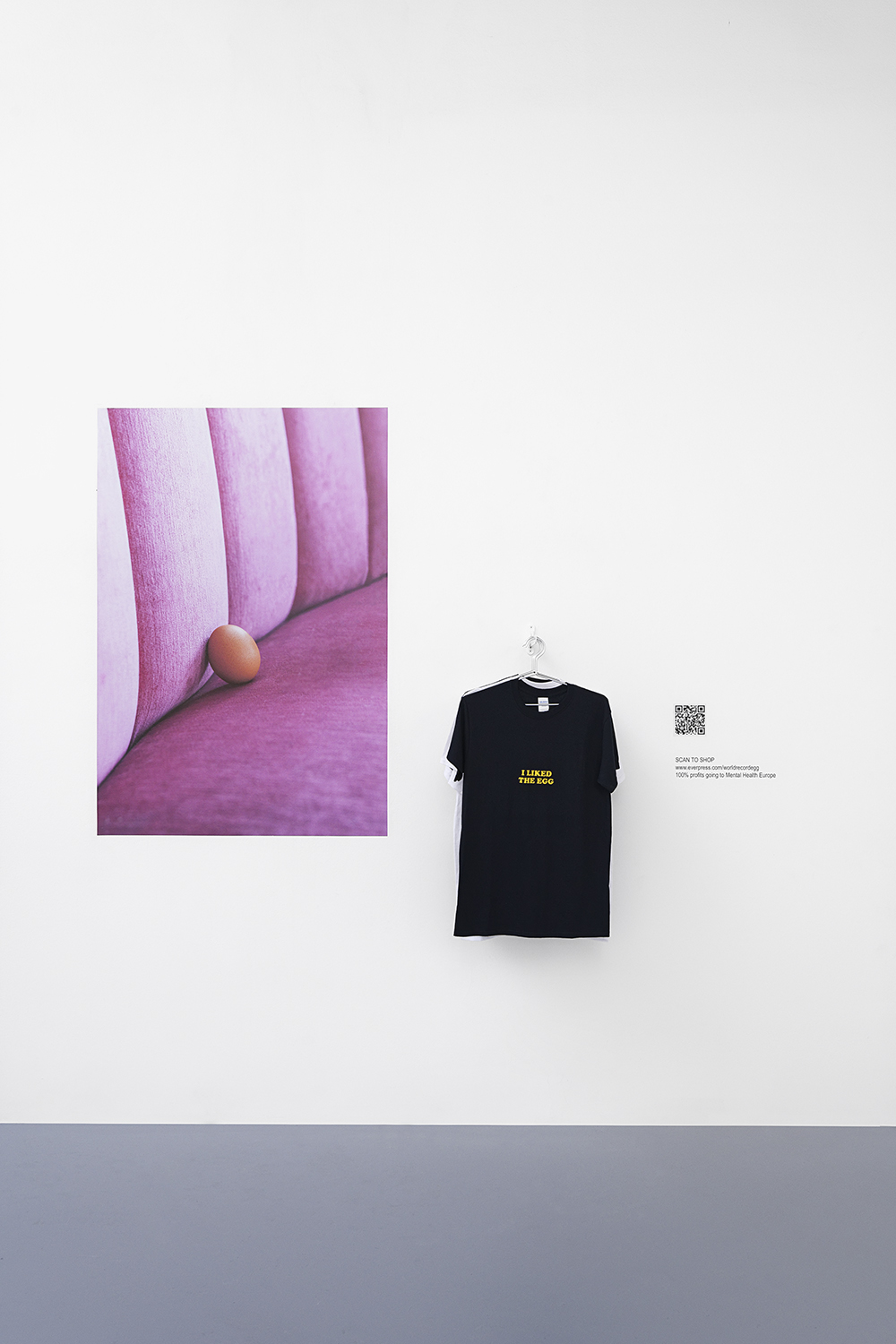 @world_record_egg, 2019 Visual : courtesy of Eddie Lee / HYPEBEAST, poster, T-Shirts, variable dimensions. — Galerie Éric Hussenot, Paris