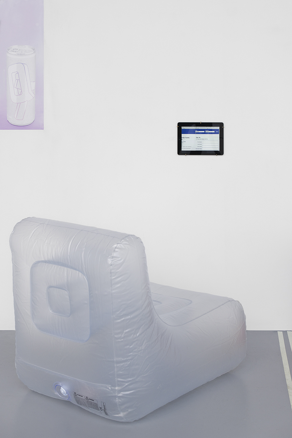 Dorm Daze, Ed Fornieles, 2011, Vidéo 5'23 , dimension variable — Galerie Éric Hussenot, Paris