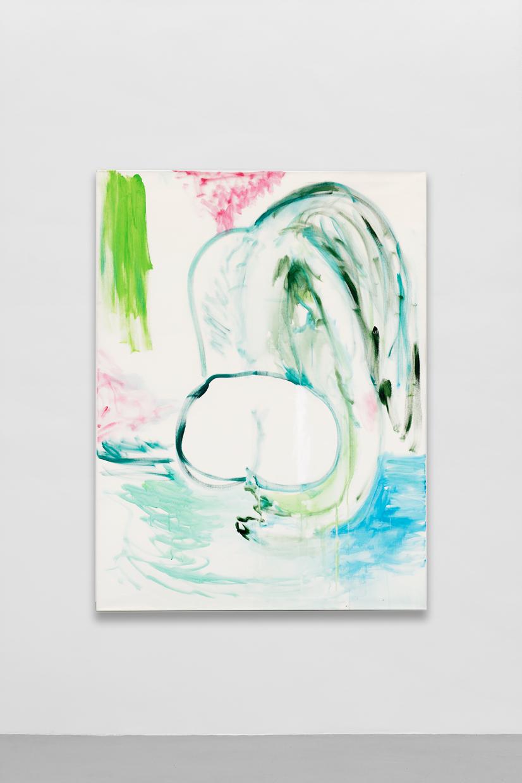 Clean, Tamuna Sirbiladze, 2005, acrylic on canvas, 120 x 160 cm — Galerie Éric Hussenot, Paris