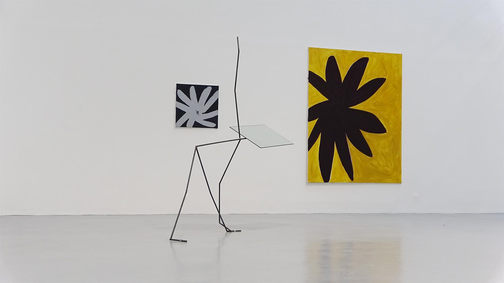 Laure Prouvost, Tamuna Sirbiladze, vue d'installation, Hussenot, Paris — Galerie Éric Hussenot, Paris