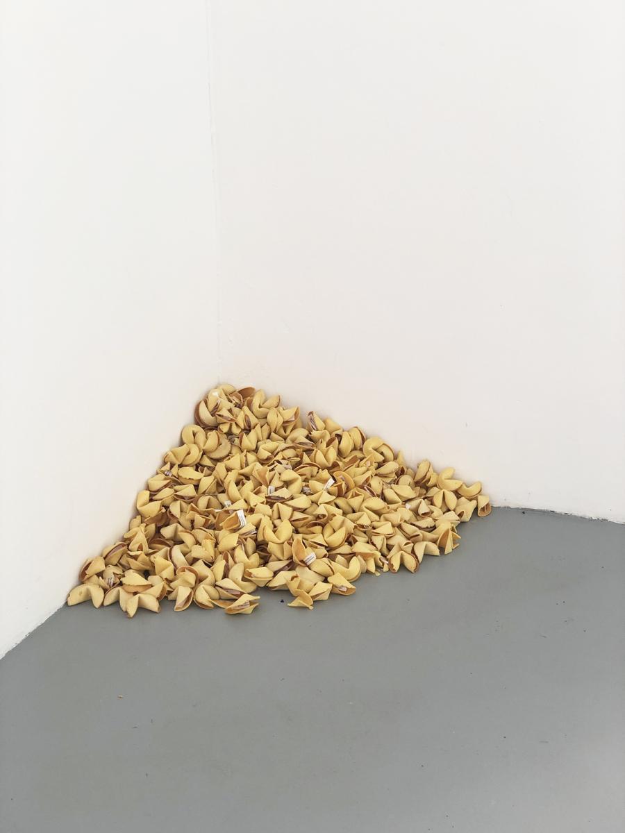 'Untitled' (Fortune Cookie Corner), 1990 - Galerie Hussenot