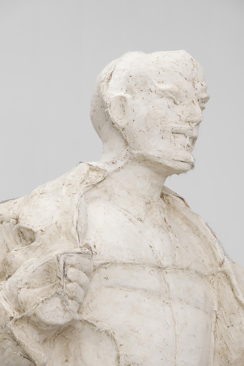 Incarnation (detail), Ciprian Mureșan, 2020, Unique, Resin, 399 (H) x 165 x 143 cm  — Galerie Éric Hussenot, Paris