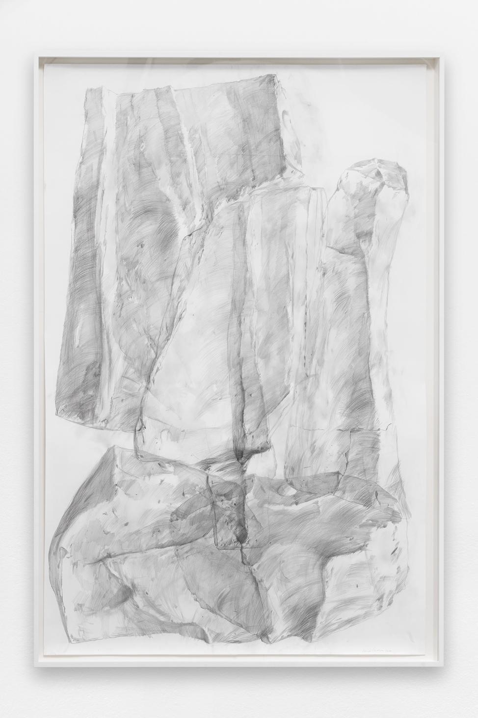 Spectre #4 , Ciprian Mureșan, 2020, Pencil on paper, 211 x 161 x 7 cm  — Galerie Éric Hussenot, Paris