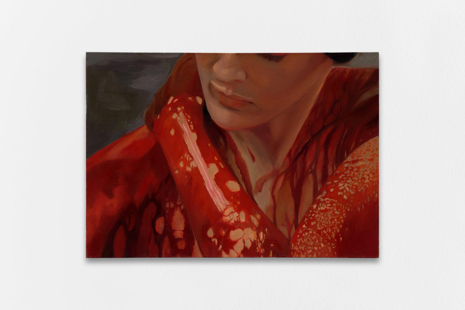 Bathory, Shannon Cartier Lucy, 2020, Oil on canvas, 86 x 61 cm (34 x 24 inches) — Galerie Éric Hussenot, Paris